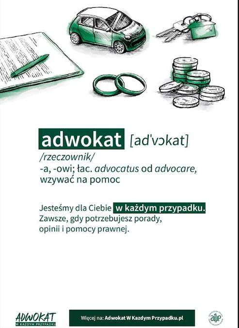 Kampania wizerunkowa adwokatów!
